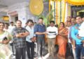 Sai Dharam Tej, Karunakaran's Big Budgeted Film In K.S.Rama Rao's Production Launched Today
