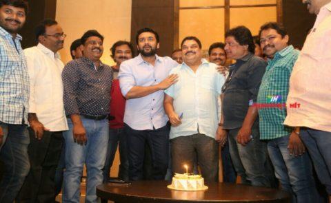 Hero Surya Conveyed Birthday Wishes To Senior Journalist B.A.Raju