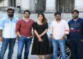 Sithara Entertainments Production no 3: Director Maruthi - Naga Chaitanya - Anu Emmanuel Shooting Started