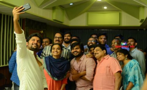 King Nagarjuna – Natural Star Nani – C.Aswini Dutt – T.Sriram Aditya's Multistarrer Songs Recording Begins