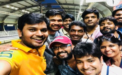 Nagarjuna – Nani's Multi-Starrer In Vyjayanthi Movies Production Is The First Film To Be Shot In a Hyderabad Metro Train