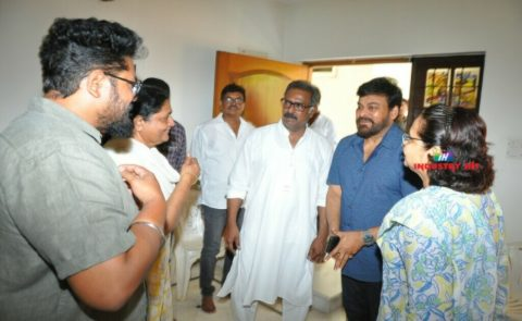 Chiranjeevi Visited Actor Banerjee's House
