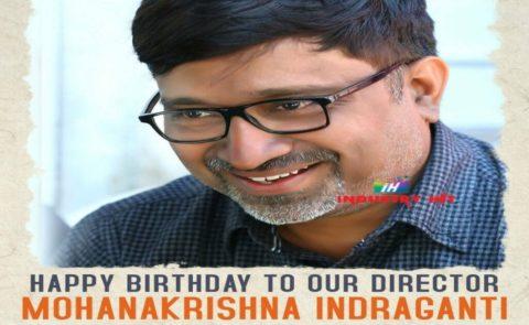 MohanaKrishna Indraganti Birthday Poster – Sammohanam