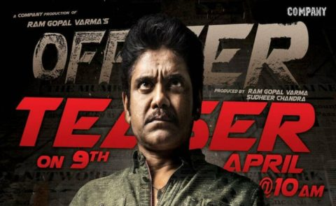 Nagarjuna and RGV's 'Officer' Teaser will be out on April 9th