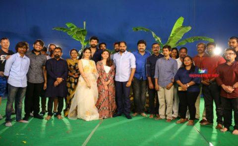 VarunTej-SankalpReddy Combo Movie Launched