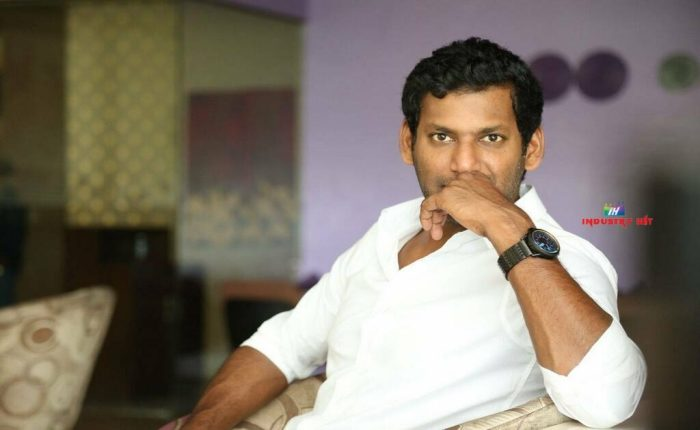 I Am Lucky To Do Film A Like 'Abhimanyudu' – Vishal
