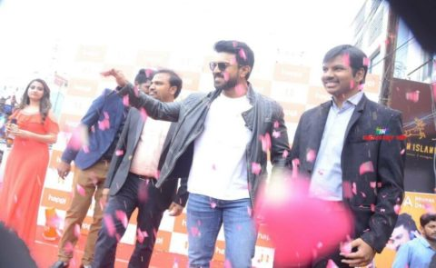 MegaPowerstar RamCharan Launches Happi Mobiles Store