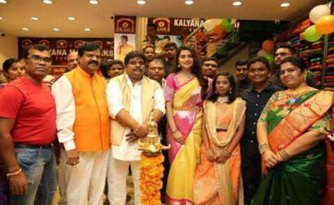 Payal Rajput Inaugurates KalyanaMahalakshmi Shopping Mall