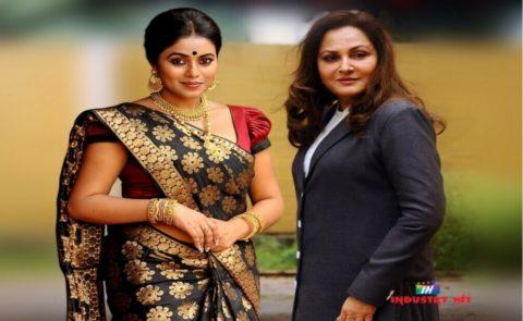 Jayaprada As Porna's Daughter