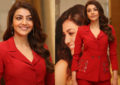 Kajal Agarwal At 'Kavacham' teaser launch - Pics