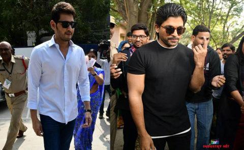Celebrities Cast Their Vote In Hyderabad – Pics