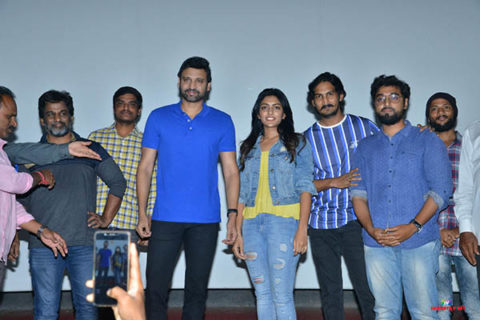 'Subrahmanyapuram' Team at Arjun Theater Kukatpally – Pics