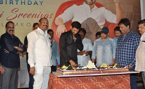 Bellamkonda Sai Sreenivas Birthday Celebrations – Video