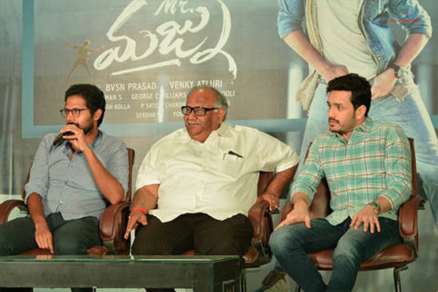 'Mr Majnu' Pre-Release Press Meet – Video