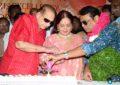 Superstar Krishna, Vijaya Nirmala At Naresh Birthday Celebrations - Pics