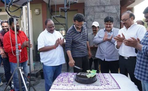 Sekhar Kammula's Birthday Celebrations On-Location – Pics