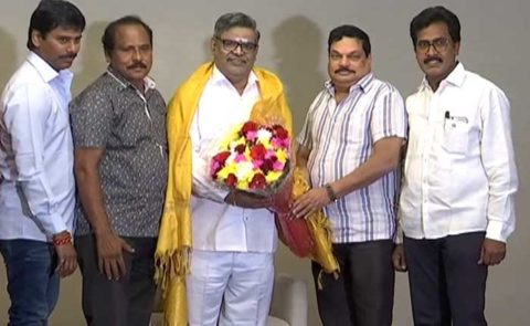 Sirivennela Seetharama Sastry Press Meet On Padma Shri – Video