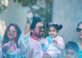 Allu Arjun's Holi Celebrations With Family - Pics
