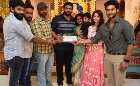 Aadi Saikumar and Vedhika Telugu-Tamil Bilingual Launched