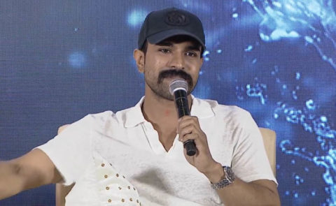 Ram Charan Speech @ 'RRR' Press Meet – Video