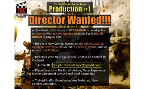 DIRECTOR WANTED!!!