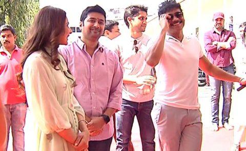 'Manmadhudu 2' Movie Launch – Video