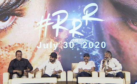 'RRR' Press Meet (SS Rajamouli, NTR, Ram Charan, DVV Danayya) Q & A Session – Video