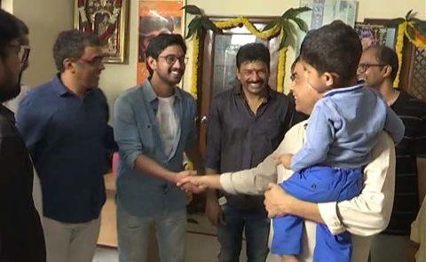 'Iddari Lokam Okate' (Dil Raju, Raj Tharun) Movie Launch – Video