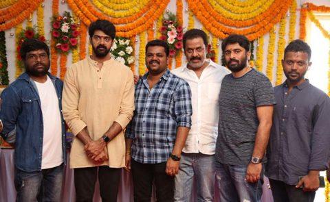 Naveen Chandra New Film Launch Produced By Yashas Cinemas – Pics