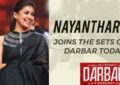 Nayanthara Joins Superstar Rajinikanth's 'Darbar'