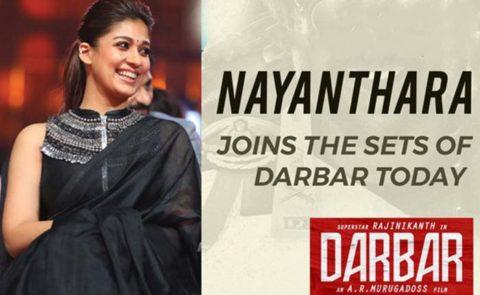 Nayanthara Joins Superstar Rajinikanth's 'Darbar'