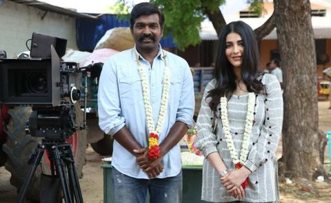Shruthi Haasan Is Back In Action With Vijay Sethupathi's Film