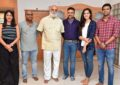 Suchetha Dreamwork Productions Film Launch (Sai Sushanth Reddy, Chandini Chowdary, Simran Chowdary) - Pics