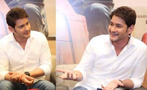 Superstar Mahesh Babu At Media Interaction About 'Maharshi' – Pics