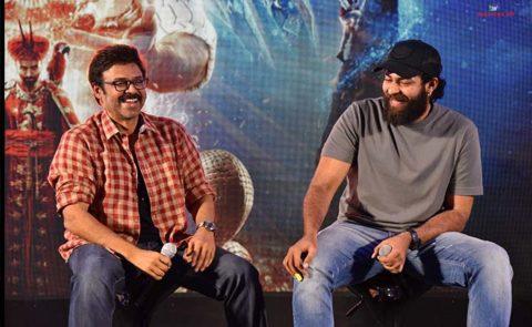 Venkatesh, Varun Tej At 'Aladdin' Press Meet – Pics