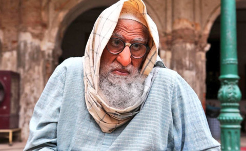 Big B's Quirky Look Grabs Attention