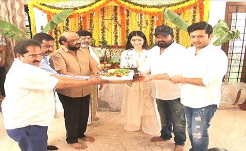 Bheeshma (Nithiin, Rashmika Mandanna) Movie Launch – Video