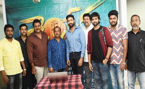 Aggressive Hero Gopichand Released Samudra's 'Jai Sena' Teaser