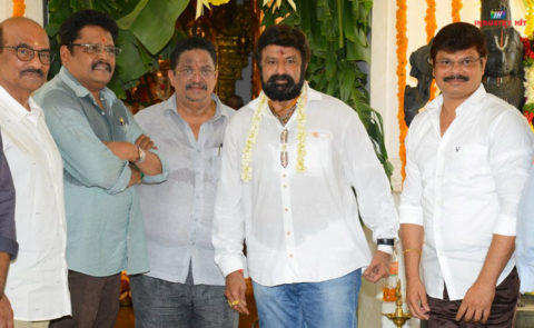 Nandamuri Balakrishna, KS Ravi Kumar, C Kalyan Movie Launch – Pics
