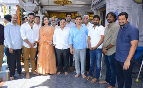 Sai Dharam Tej, Maruthi's 'Prati Roju Pandaage' Launched