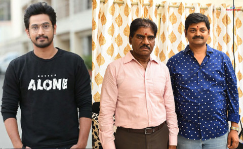 Raj Tarun Starrer Directed By Konda Vijaykumar In KK Radhamohan's Production Launched With Pooja Ceremony