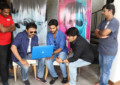 Venkatesh Launches Aadi's 'Burrakatha' Trailer - Pics