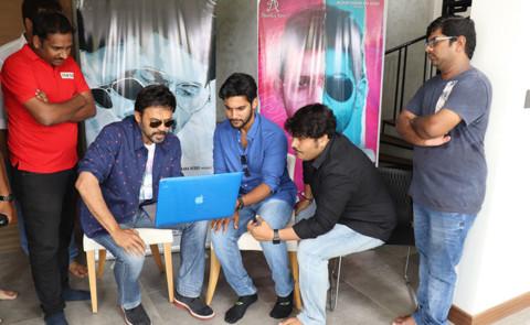 Venkatesh Launches Aadi's 'Burrakatha' Trailer – Pics