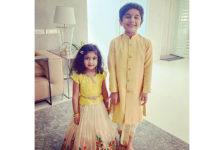 Allu Ayaan And Allu Arha Outfits