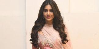 Nabha-Natesh-Disco-Raja-Pre-Release-Event