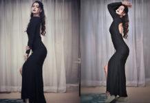 Payal Rajput In Black