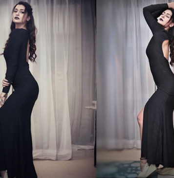 Payal Rajput In Black