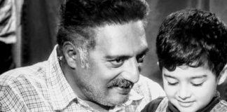 Prakash Raj with his cute son