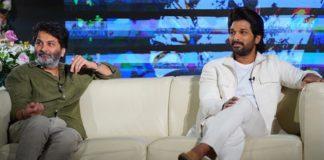 Trivikram Behind Allu Arjun Kids Debut