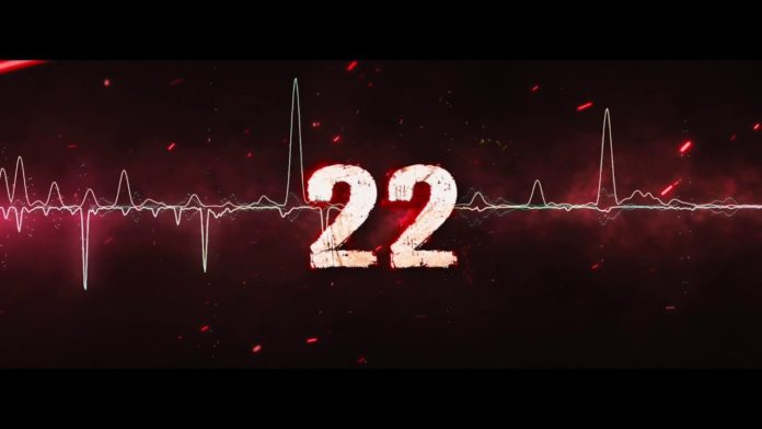 The Title Animation Logo Of '22' Movie Is Unveiled On The Eve Of New Year !!